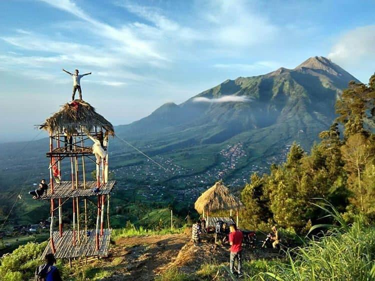 Lokasi Gancik Hill Top Selo Boyolali